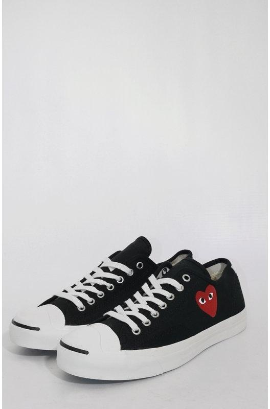 df735cfbc0bd Comme des Garcons PLAY X Converse Jack Purcell Shoe.