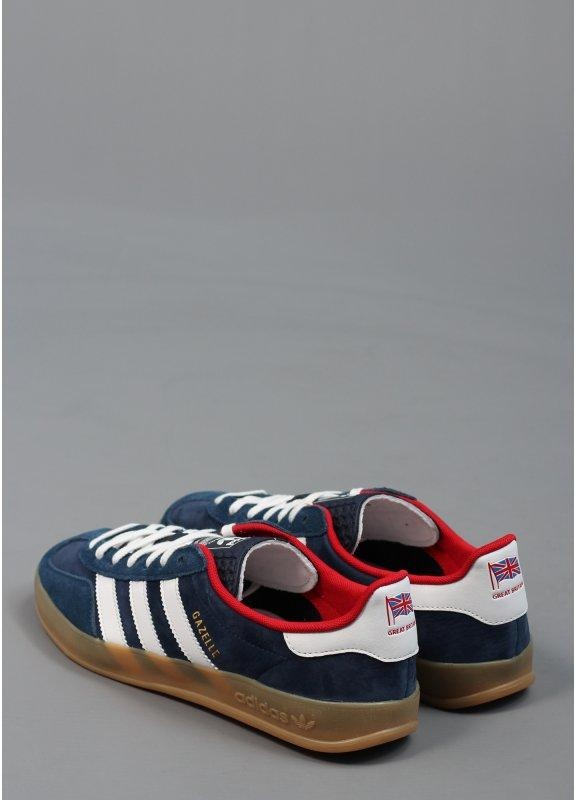 adidas Originals Footwear Gazelle Indoor Trainers Team GB Dark Indigo