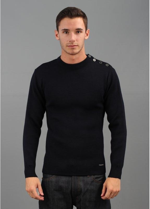 Long Sleeved Sailor Sweater Navy