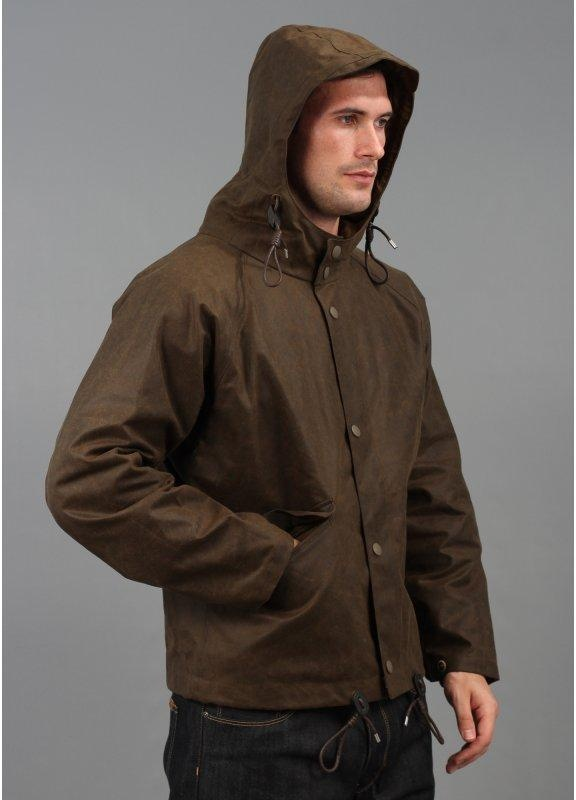 fe7c3bc74fc6 Nigel Cabourn Aircraft Hooded Jacket Olive