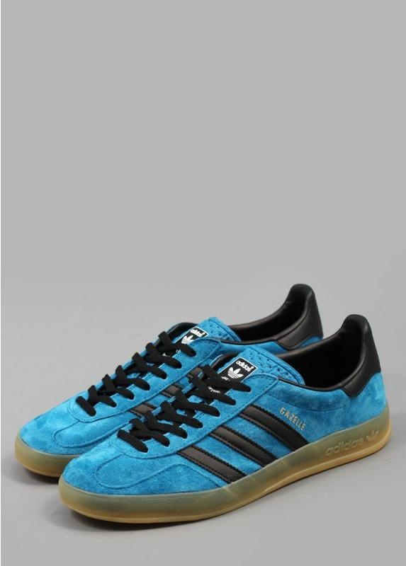 Adidas Originals Gazelle Indoor Shoes Dark GreenBlack