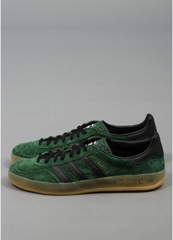 green adidas gazelle indoor