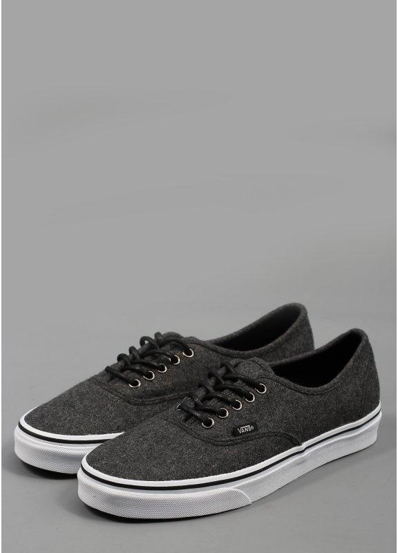 3d652a6947 Vans Authentic Wool Shoes Dark Shadow