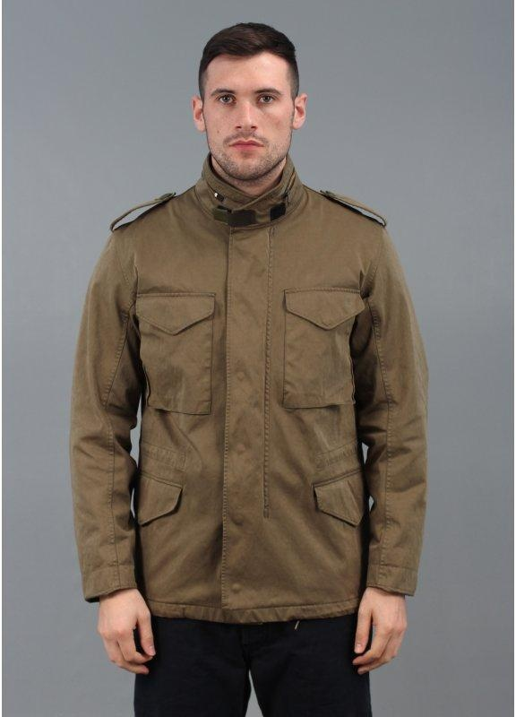 Ten C Field Zipper Jacket Olive