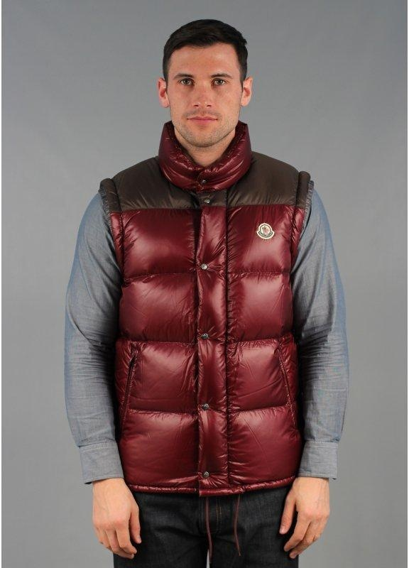 5e3ee53a47bc Moncler Andersen Puffer Jacket Burgundy