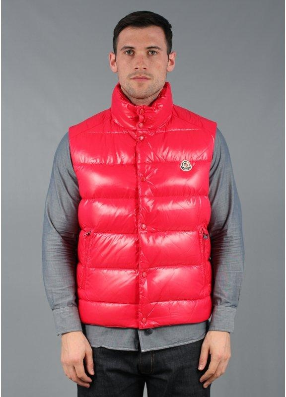 Tib Down Gilet Red