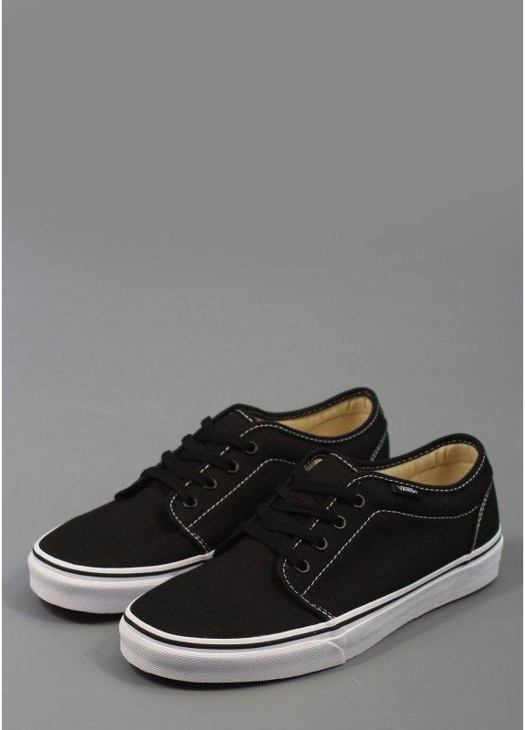 vans 106 vulcanized. 106 vulcanized trainer black/white vans
