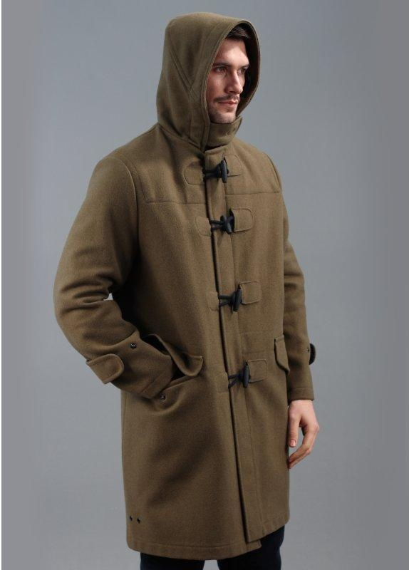 Fred Perry Laurel Wreath x Gloverall Duffle Coat Loam