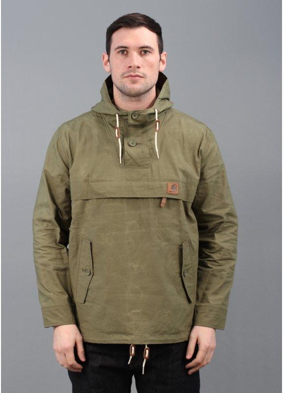 Carhartt Hayden Pullover Hooded Jacket Bog Green