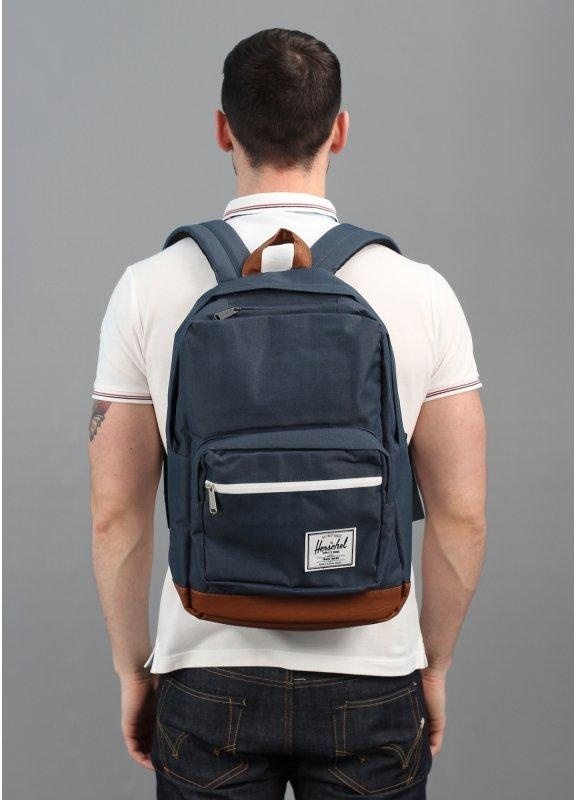 1eb39e12437 Herschel Supply Co. Pop Quiz Backpack Navy Blue