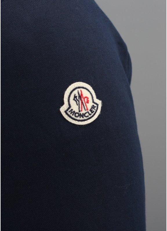 972906686 Moncler Zip Hooded Track Top Navy Blue