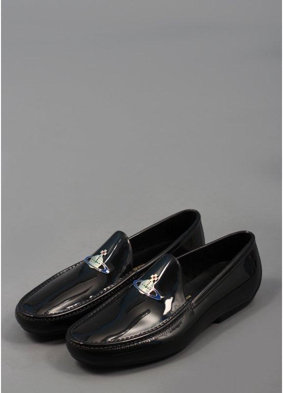 Orb Mocassino Loafer Shoes - Black