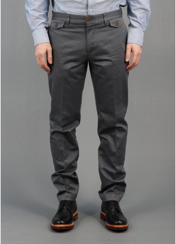Vivienne Westwood Smart Chino Pants Dark Grey
