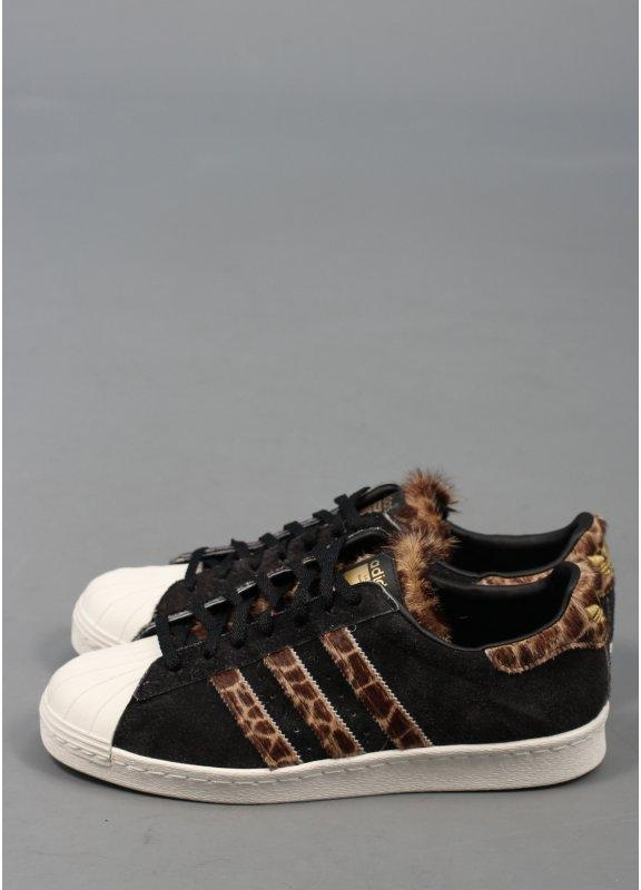 4f33972eacc5 adidas Originals x X-LARGE Superstar 80s GRF Trainers - Wheat   Black