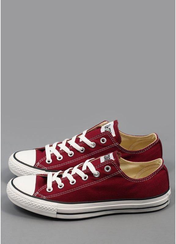 024b11ccd921a Converse All Star Ox Trainers - Maroon