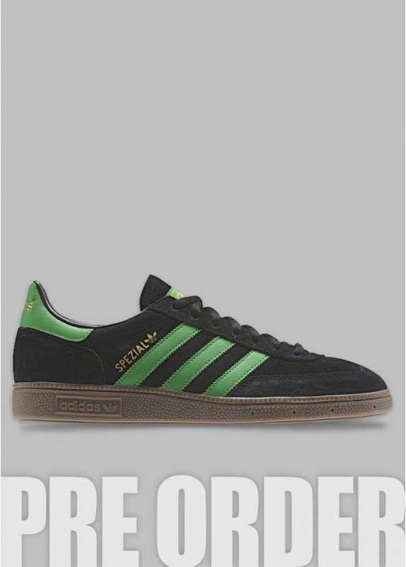 3468a89cd984 Spezial Trainers - Black   Green