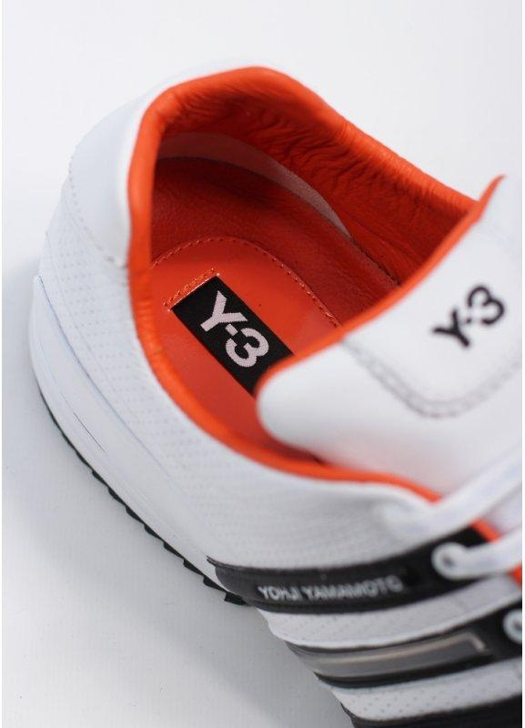 9dd7cbb7c598ec adidas Y-3 Sprint Classic - White   Black   Orange