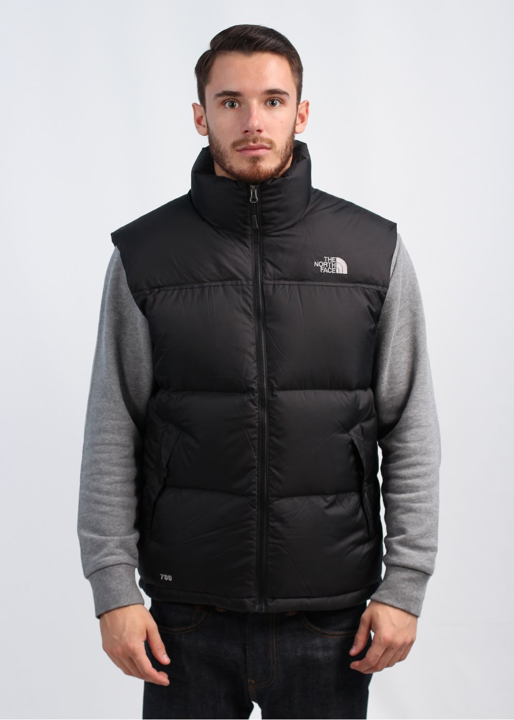 the north face nuptse vest gilet black. Black Bedroom Furniture Sets. Home Design Ideas