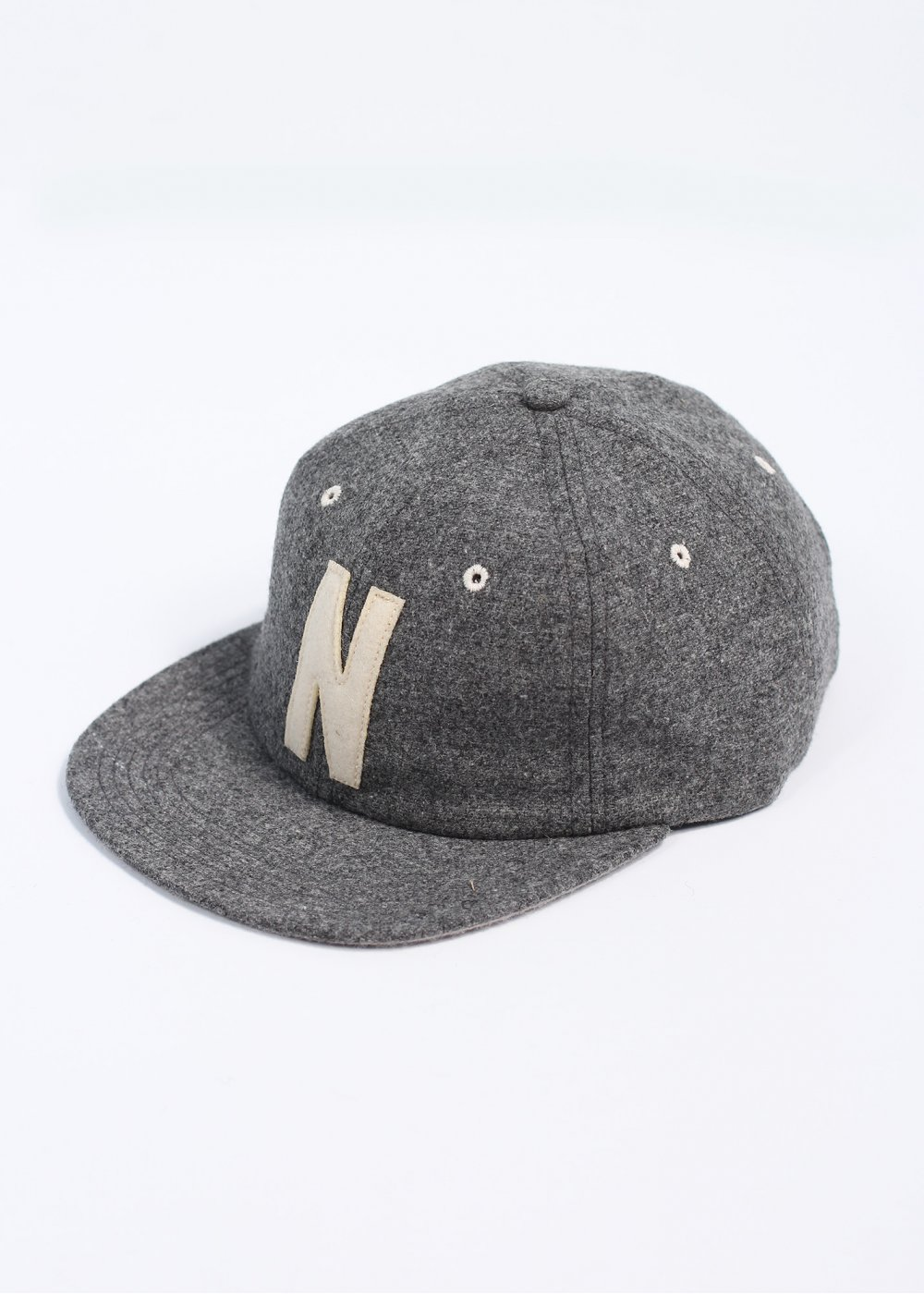Norse Projects Wool 6 Panel Cap - Grey 22095ae413a