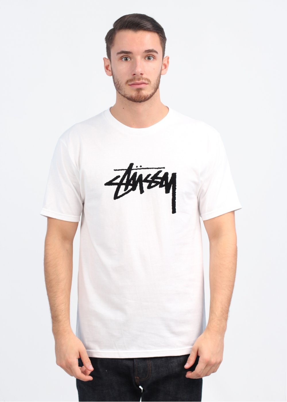 Flock Stock T-Shirt - White
