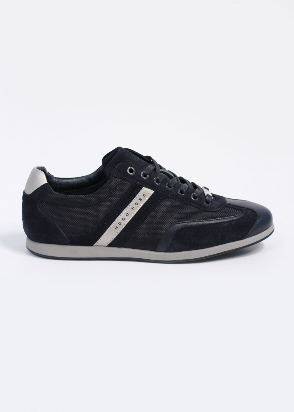 Hugo Boss Green Streametal Trainers - Navy f2d52d5def09