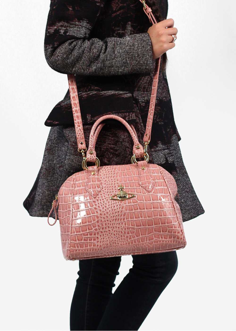 69ed1665893 Vivienne Westwood Chancery Eco Bag - Pink AW13