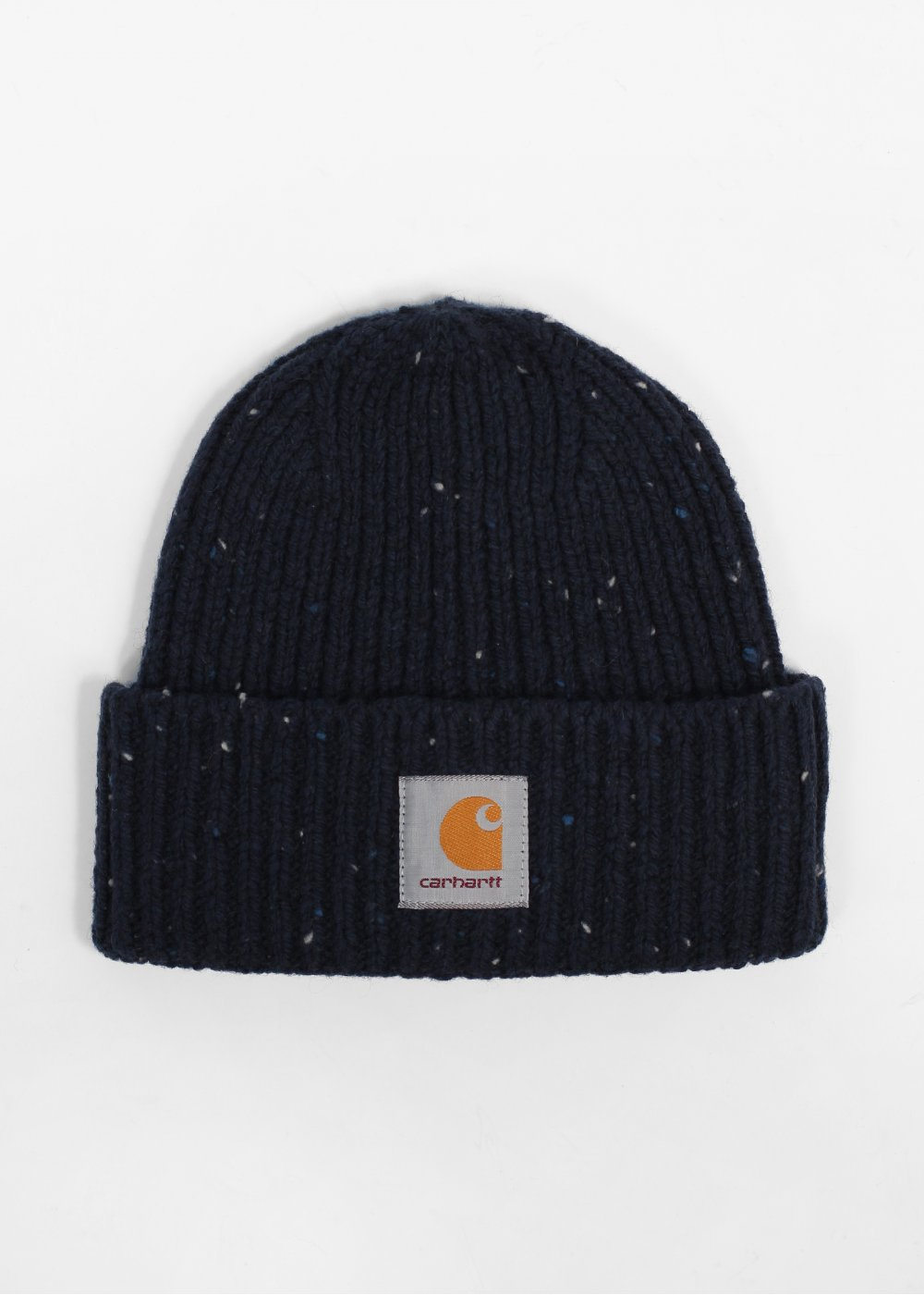Carhartt Anglistic Knit Beanie Hat - Navy Blue  ea682385433
