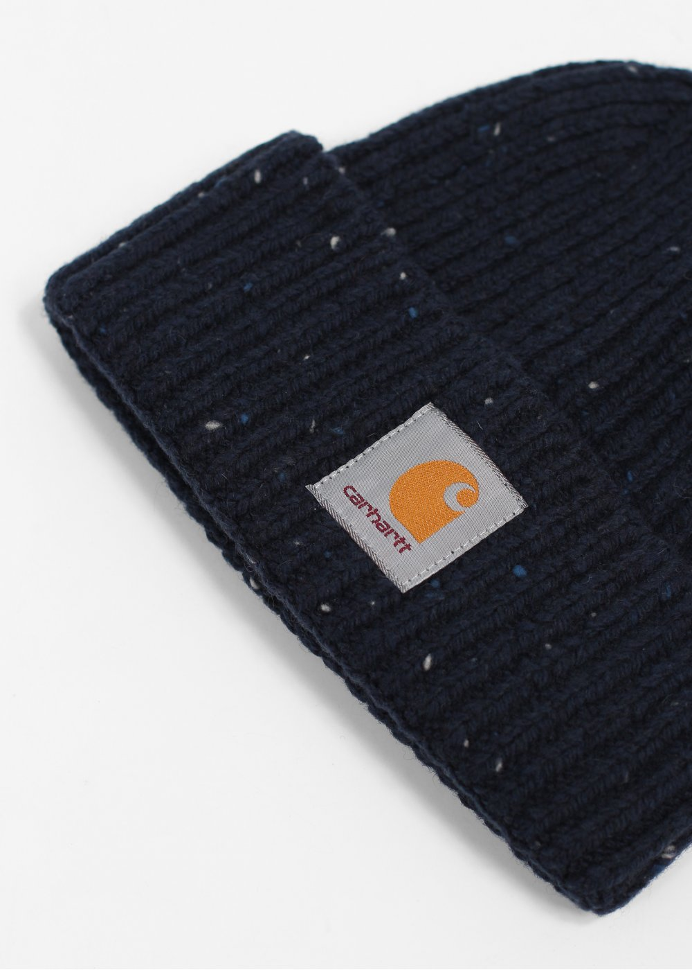 aaa5088af33 Carhartt Anglistic Knit Beanie Hat - Navy Blue