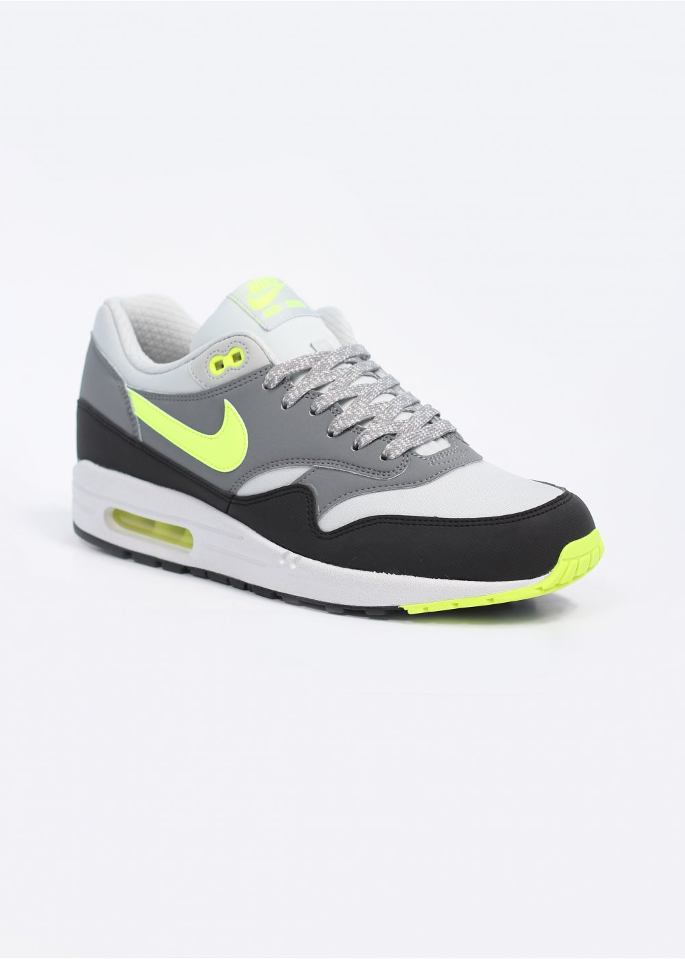 save off 8420a 4560f Air Max 1 Essential Trainers - Dusty Grey  Volt  Cool Grey
