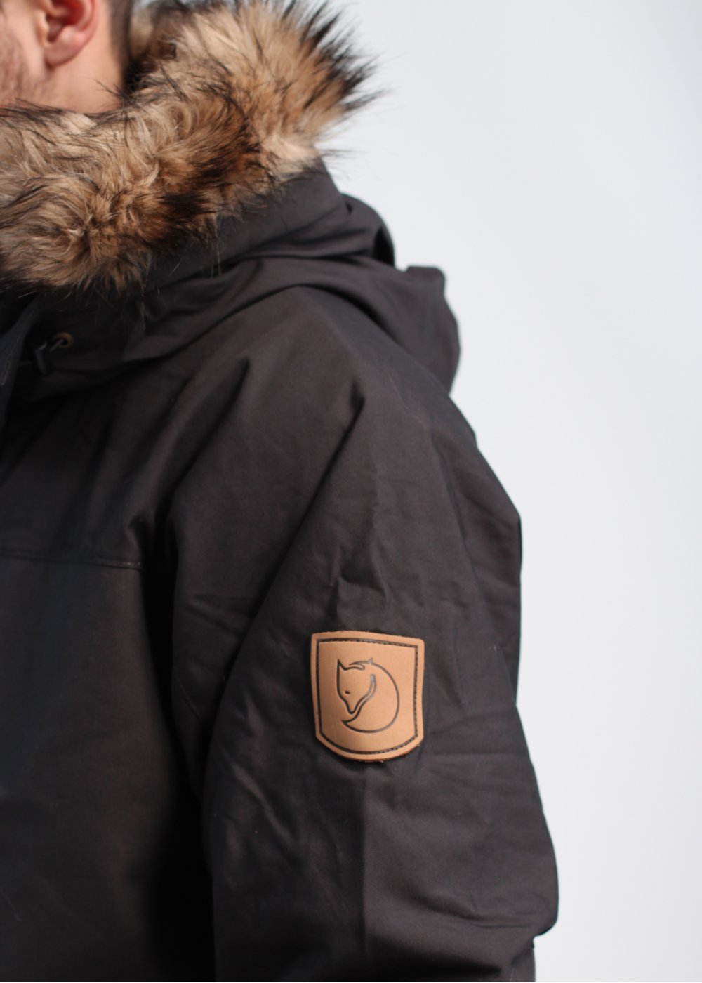 later sports shoes famous brand Fjallraven Barents Parka - Dark Grey