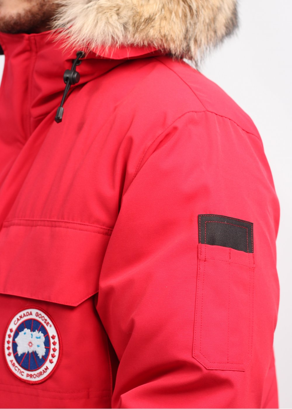 ad029b59f34 Canada Goose Expedition Parka - Red