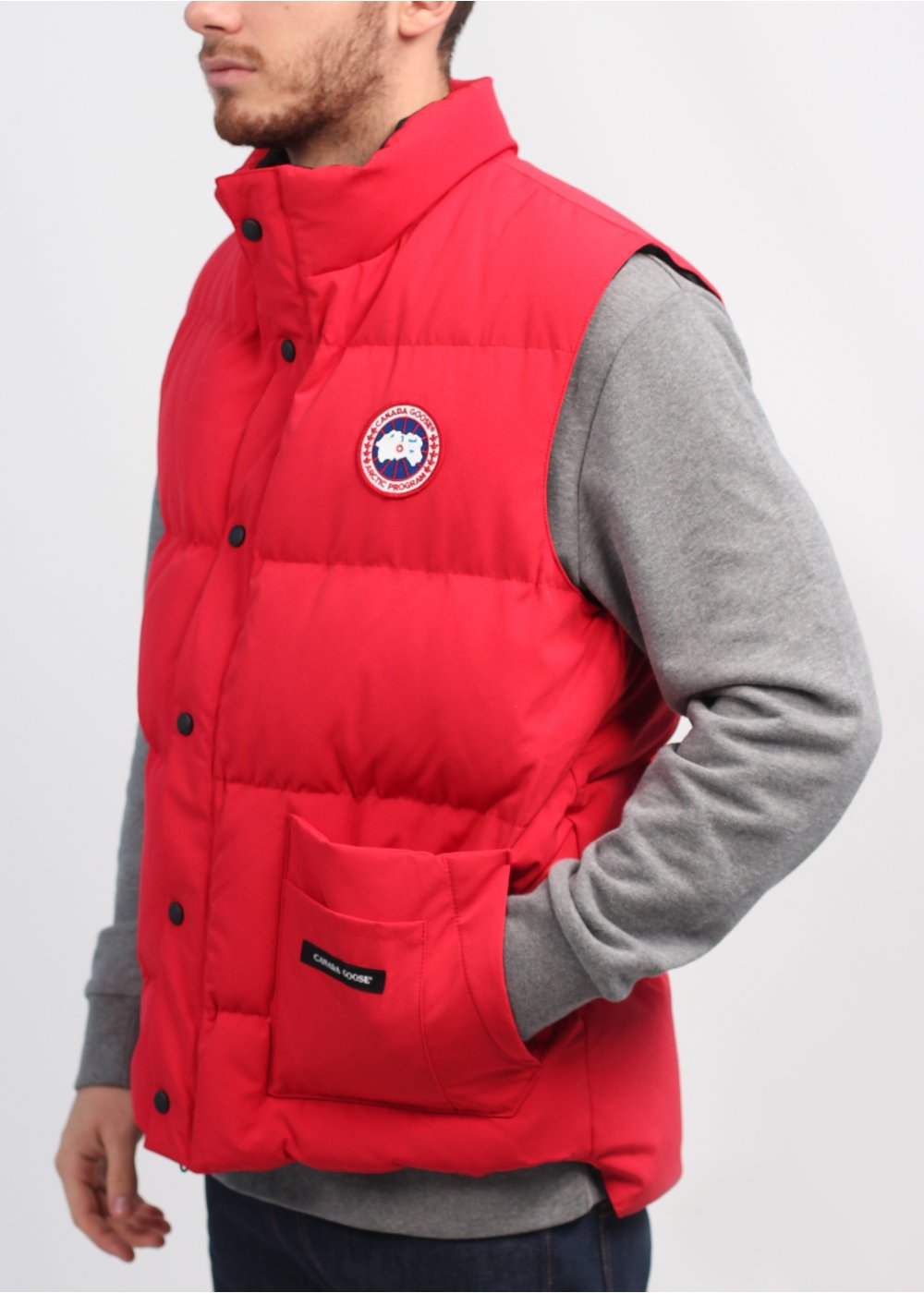 Canada Goose Red Freestyle Gilet
