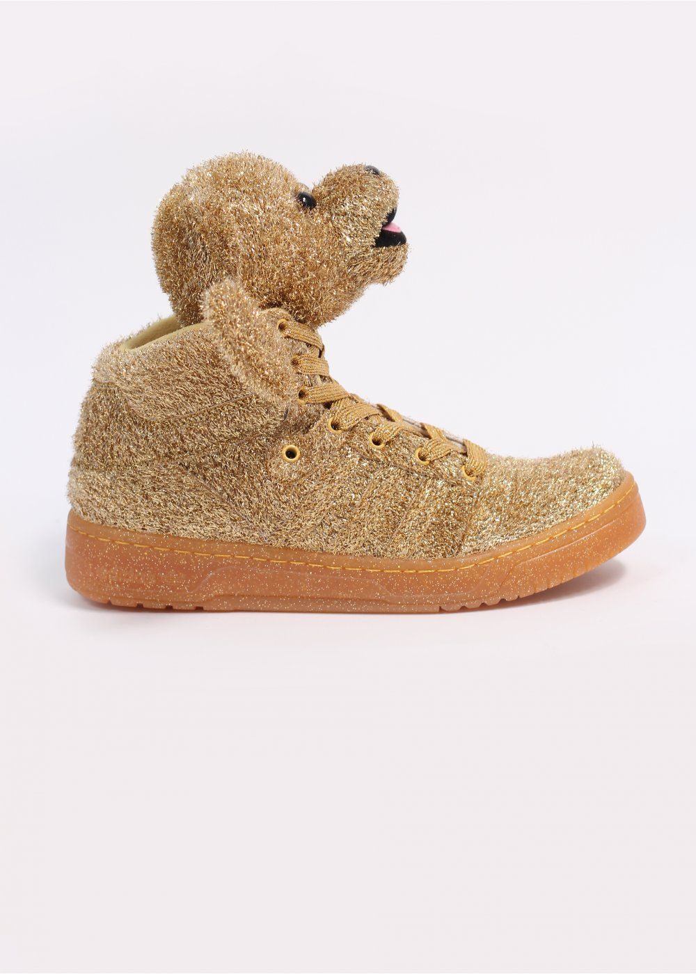 adidas Originals x Jeremy Scott Tinsel Bears Gold  59d5c81f1