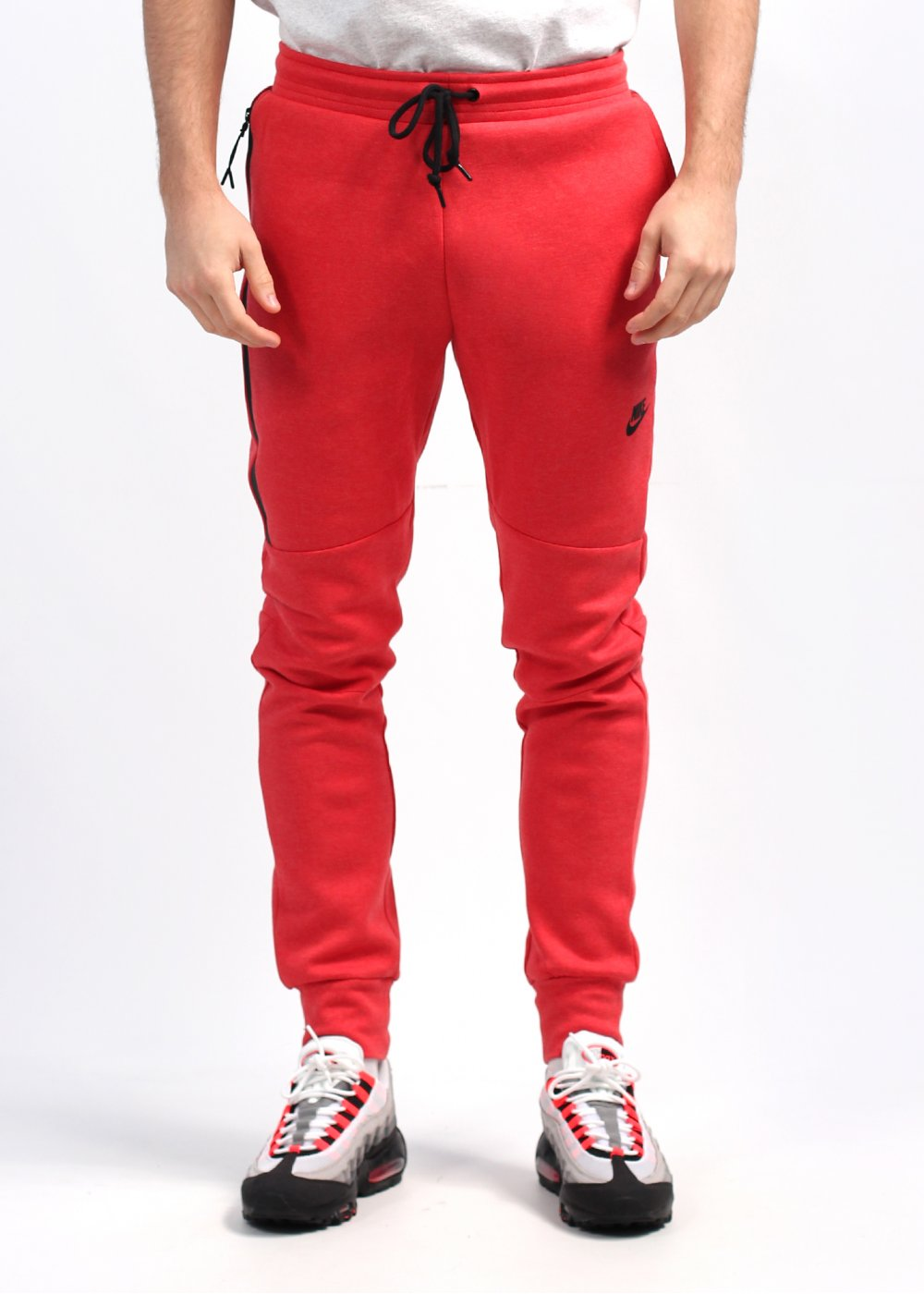f61f2623 Nike Tech Fleece Jogging Pants - Red
