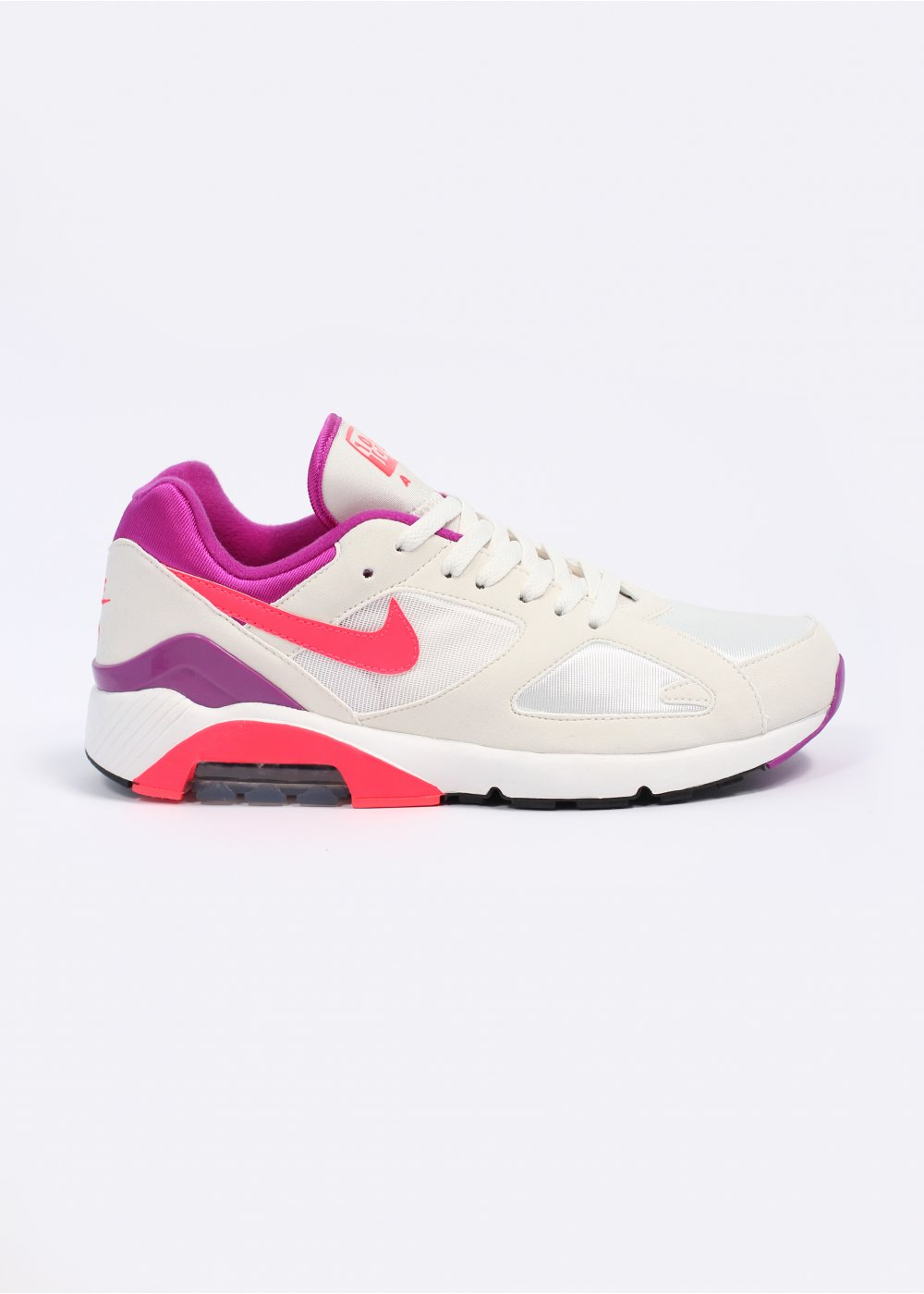 huge selection of abcf5 14553 Air Max 180 QS Trainers - Summit White  Laser Crimson  Magenta
