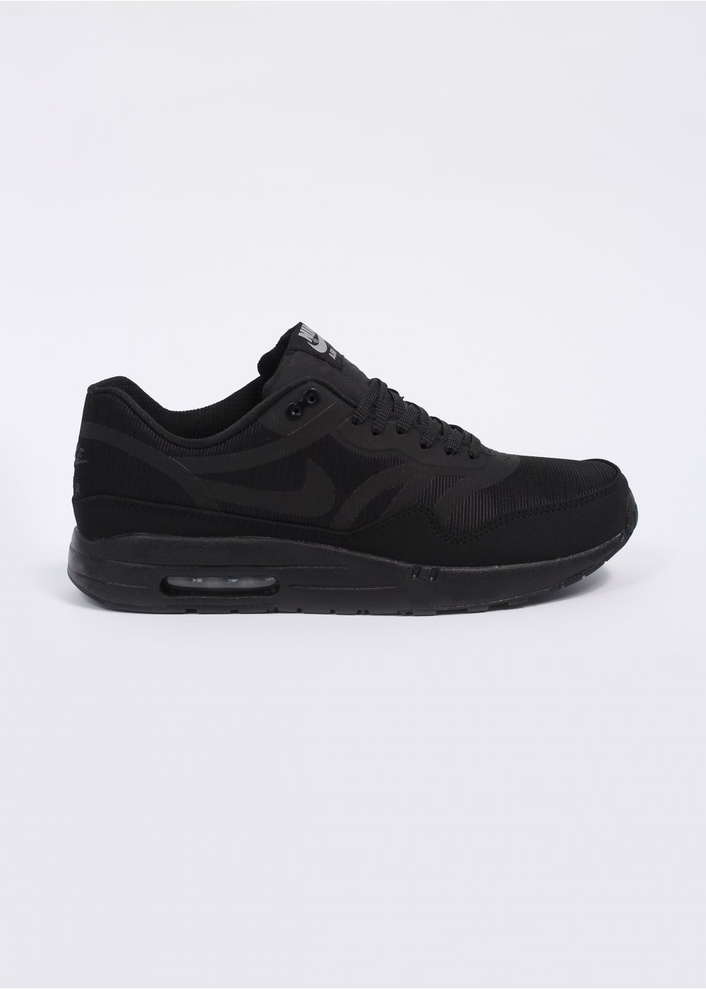 Nike Air Max 1 Premium Tape  Reflective Pack  Trainers - All Black 1b2c7d1e6