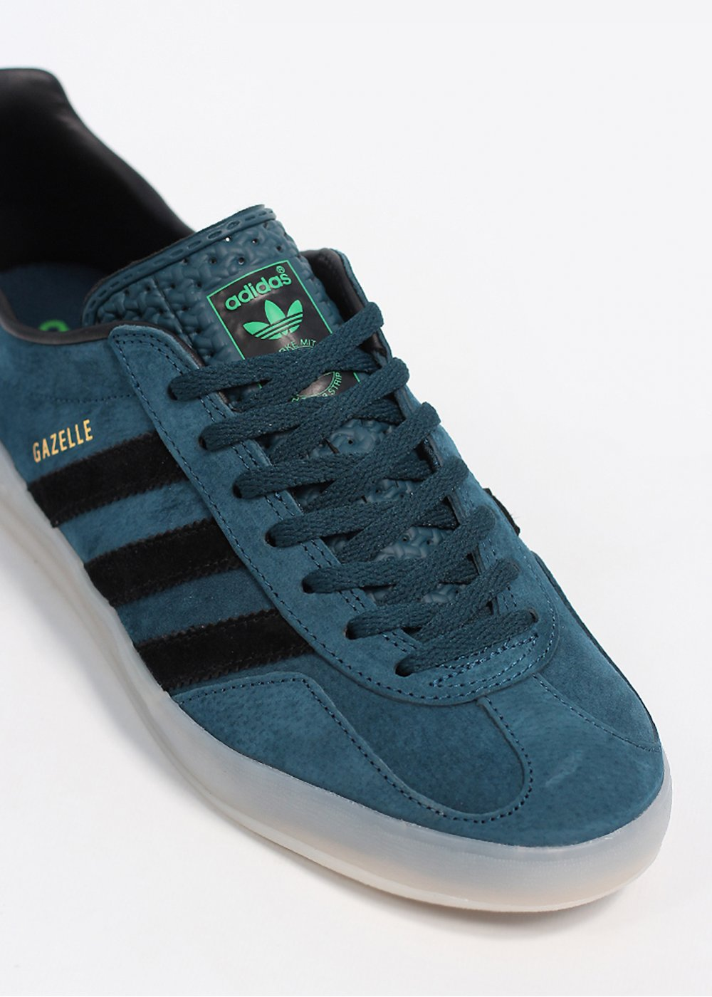 adidas gazelle blue and green