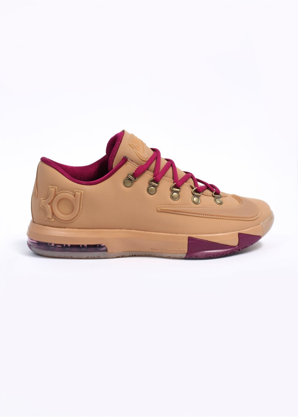 check out 60c4d eaa5b Kevin Durant KD VI EXT GUM QS Trainers - Gum Light Brown   Raspberry