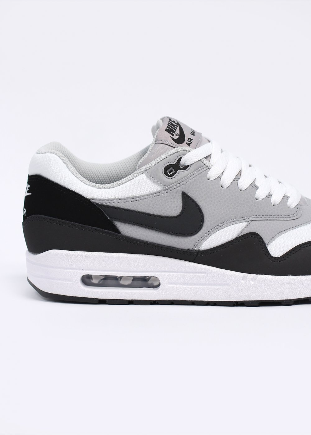 Air Max 1 Essential Trainers - White / Anthracite