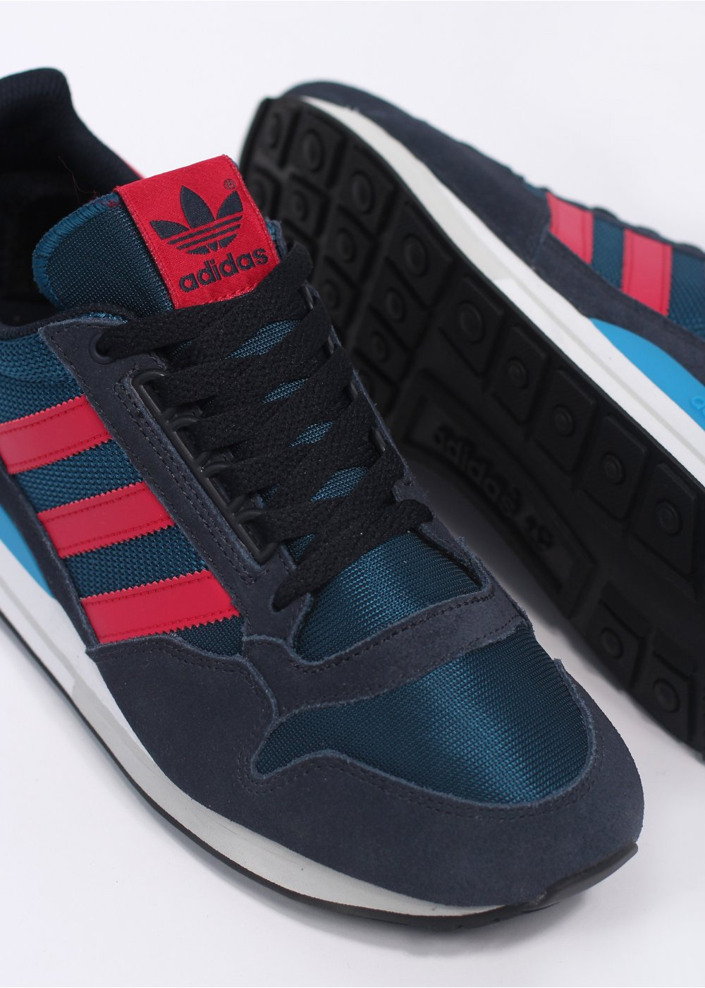 4c4bd76f88232 adidas Originals ZX 500 OG Trainers - Blue   RedZX 500 OG Trainers
