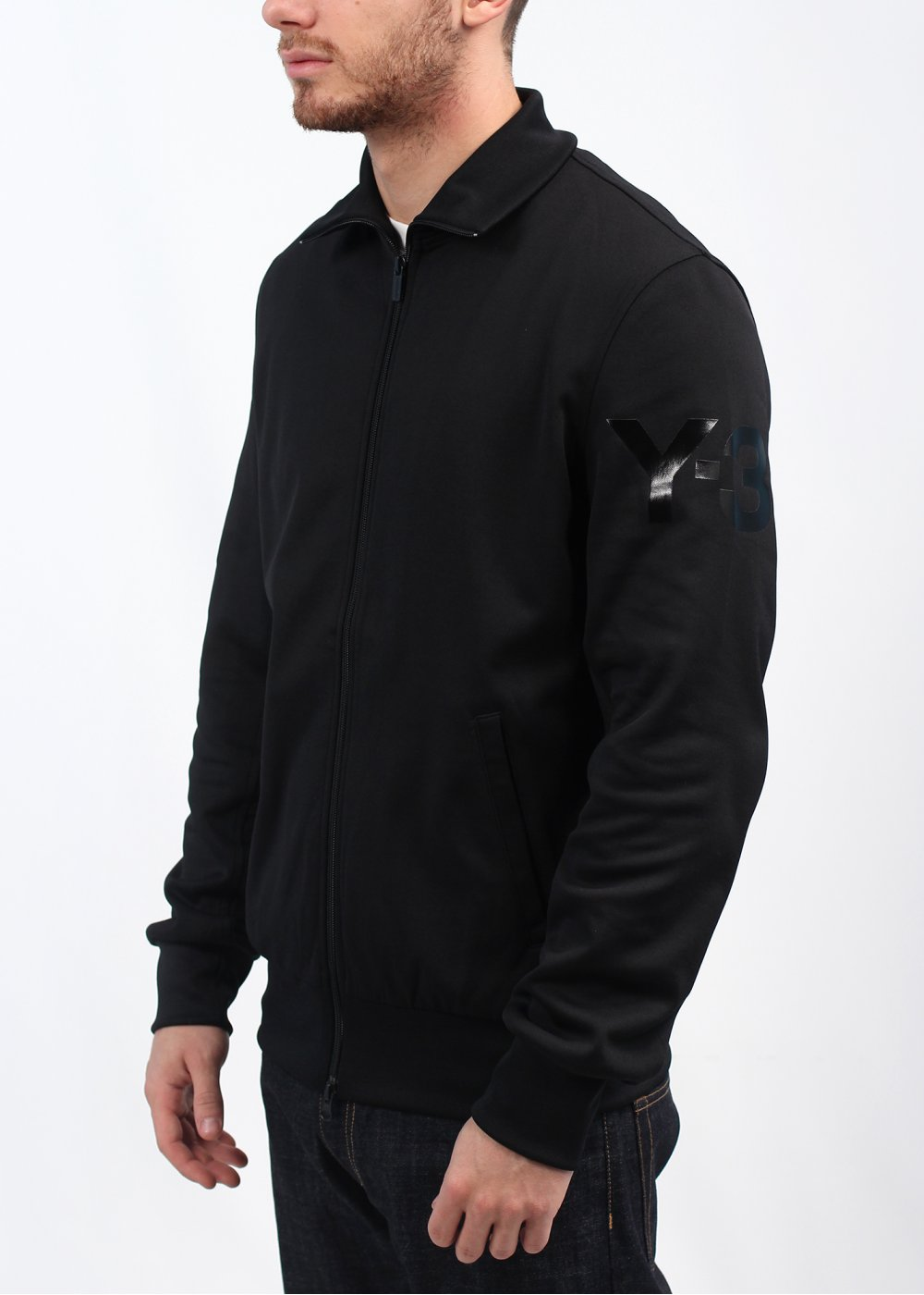 bea9b294d adidas Y3 M CL Classic Track Top - Black