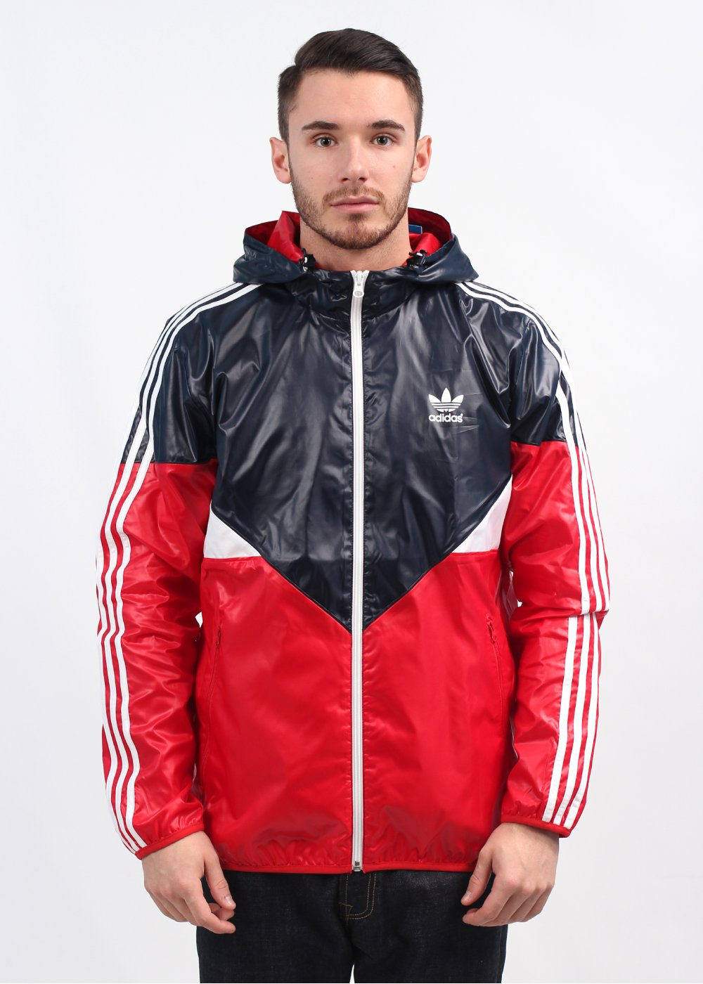 236e3cc5e adidas Originals Colorado Windbreaker - Ink / Red