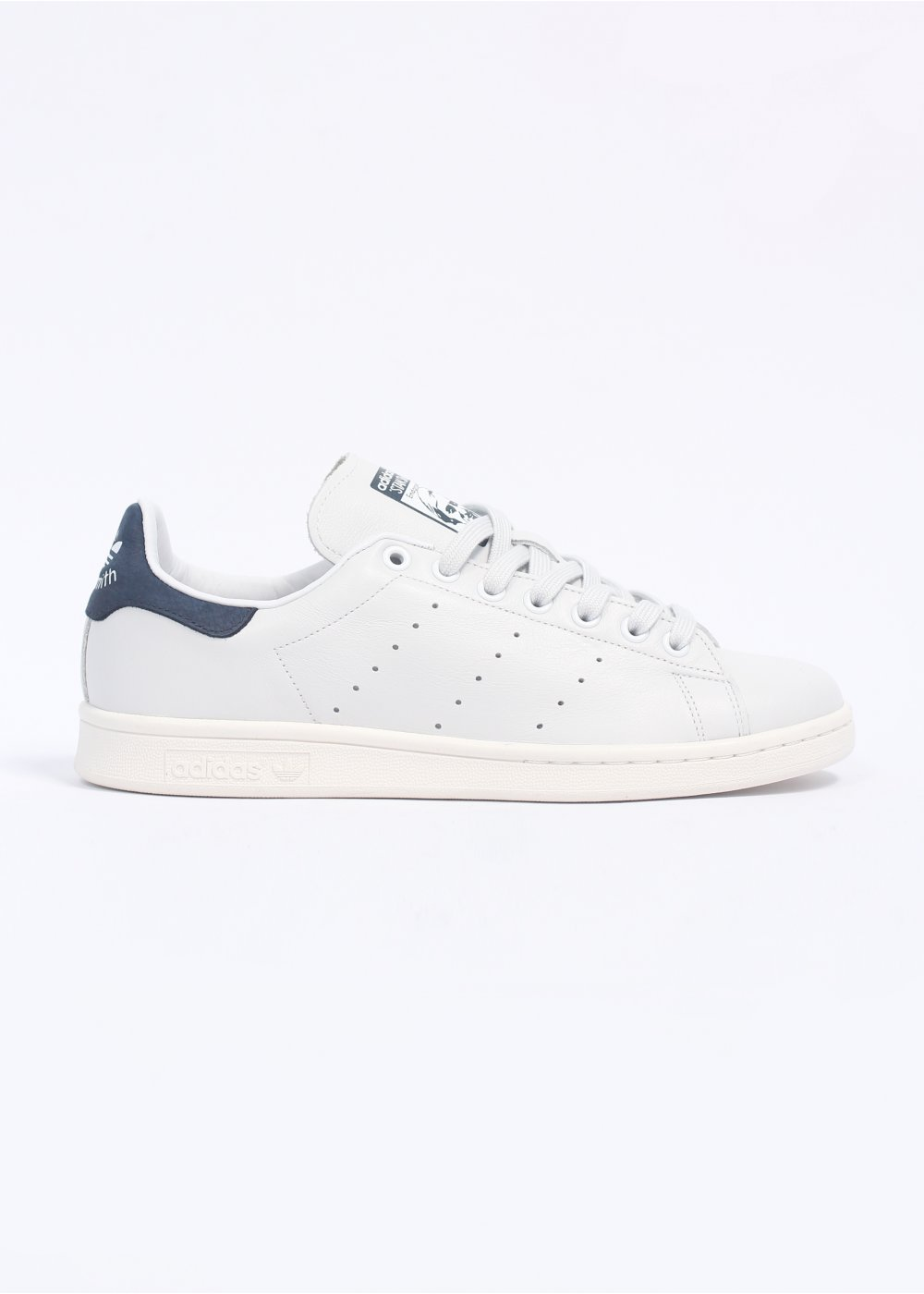 Stan Smith Vintage Leather Trainers - Neo White / New Navy