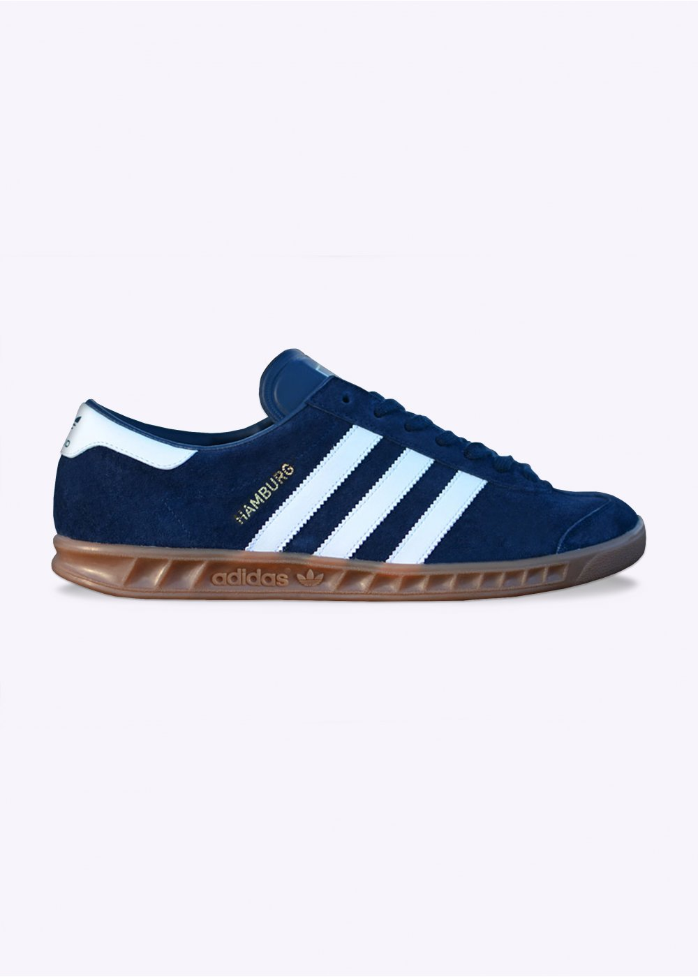 Hamburg Trainers - New Navy / Running White