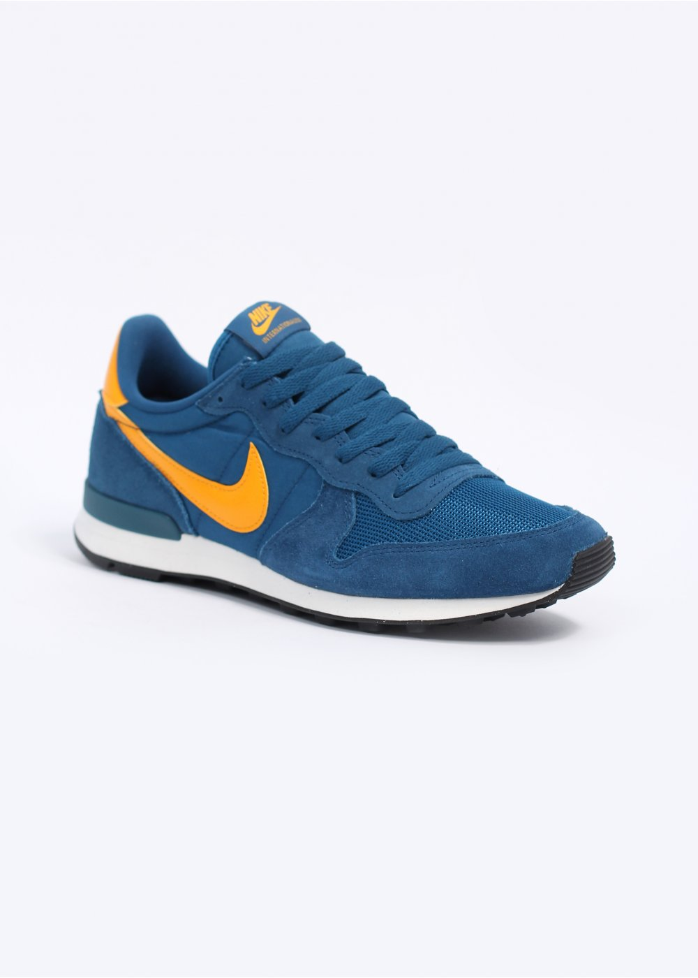 nike internationalist trainers blue
