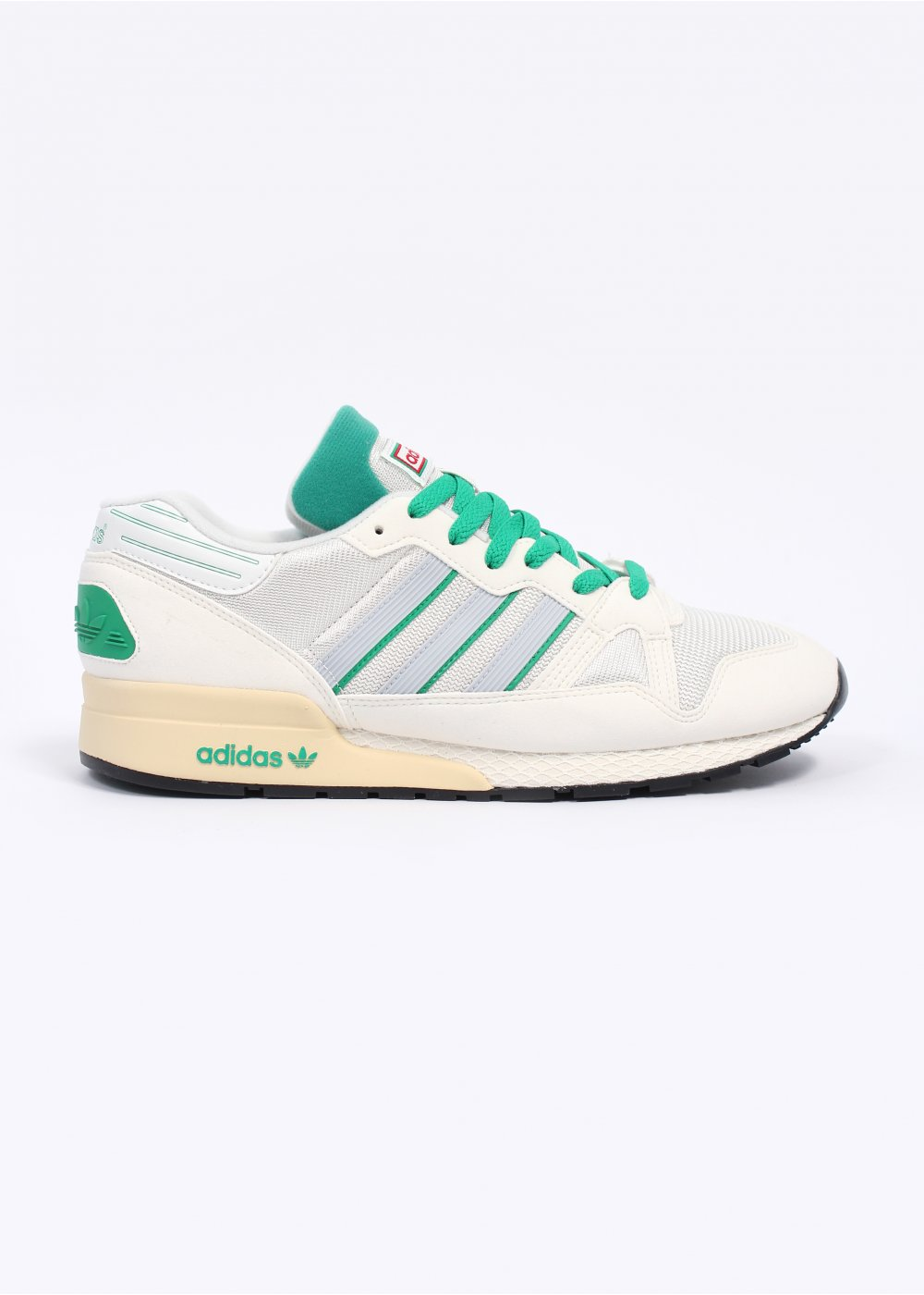 3a23cedcffe5c1 adidas Originals ZX 710 OG Trainers - White Vapour   Fresh Green