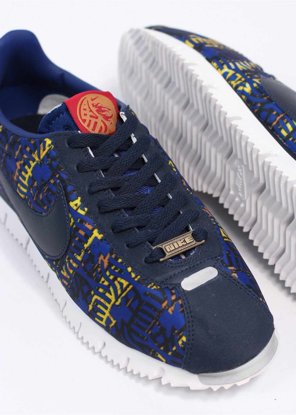 15a9b3b12e99 ... Cortez NM Premium YOTH Year Of The Horse QS Trainers - Obsidian Royal  Blue ...