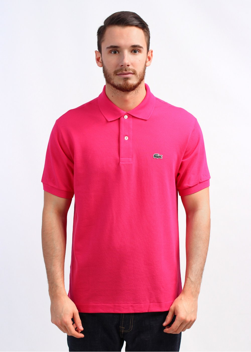 Lacoste Best Polo Shirt - Bright Pink c205005ac0