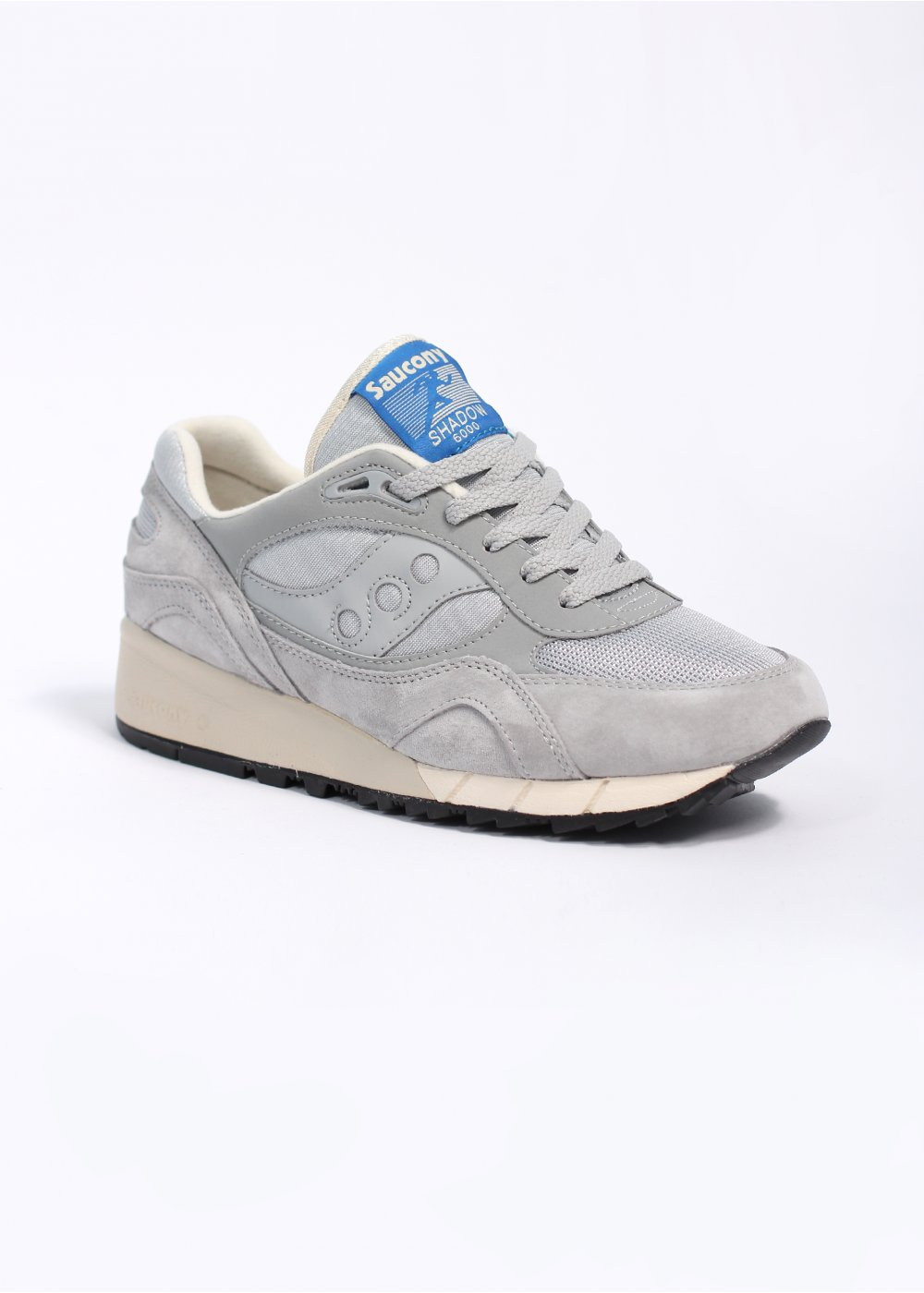 new styles da56f 43632 Saucony Shadow 6000 Premium Trainers - Grey