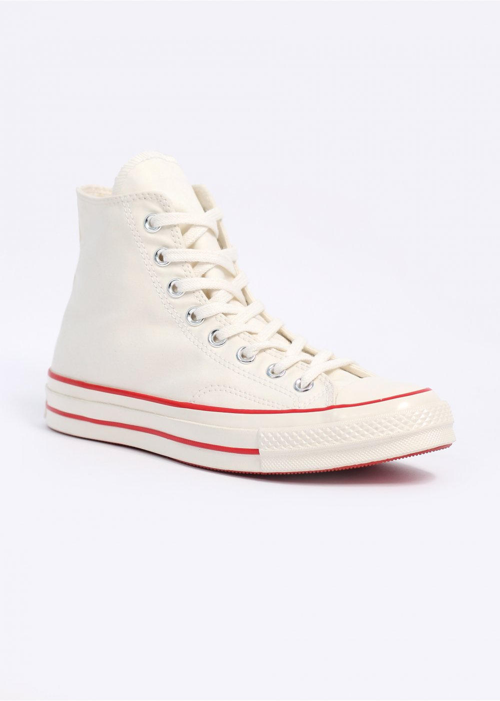 e729143e5c6f Converse First String x Nigel Cabourn 1970 s All Start Chuck Taylor Hi -  White   Red Clay
